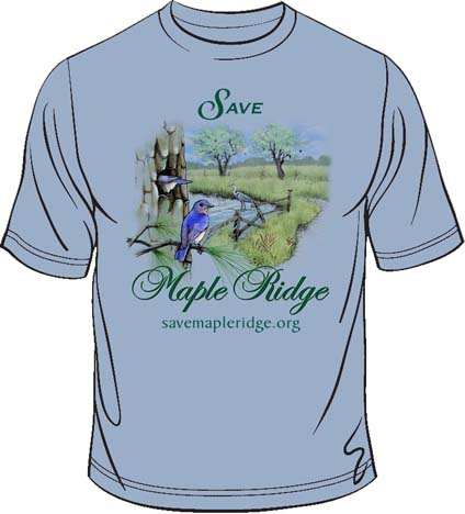 """Save Maple Ridge"" T-shirt"